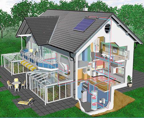 загородном доме, отопления загородном, отопления загородном доме, внимание утеплению